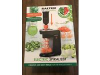 Salter electric spiralizer - brand new
