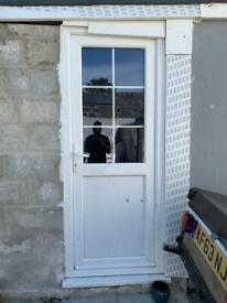Double glazed door. Comes with key
