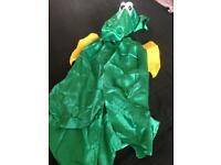 Children's dragon fancy dress outfit age 7-8