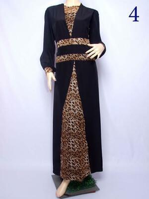 Womens Modest Dress Plain Abaya Burqa Kaftan Farasha Jilbab Ladies Maxi Dress.
