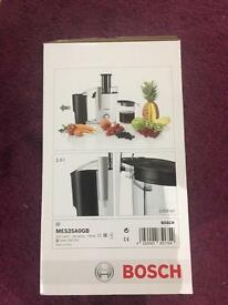 Bosch Juicer MES25A0GB White