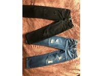 Girls 7-8 straight fit jeans