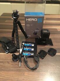 Go Pro Hero 5 session plus accessory pack