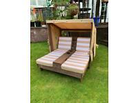 Kids garden Sunlounger sunbed chair lounger bed