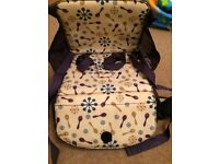 Portable high chair/ booster seat