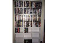 over 300 DVD's plus 420 Capacity Pigeon Hole Unit