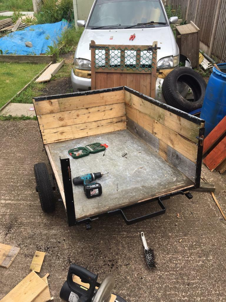 trailer 4x3 unfinished projectin Stoke on Trent, StaffordshireGumtree - for sale 4x3 trailer unfinished project only thing left do is to redo tail gat and repaint it and pump tyres up for any more info please text me only thanks