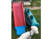 free toddles slide an multi sea saw