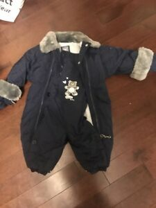Baby/toddler snow suit