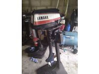 Yamaha 5 HP Outboard Long Shaft 2 Stroke