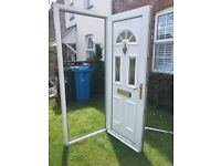 Lovely UPVC front door and frame