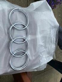 Audi grill Rings