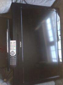 "For Sale 26"" Hitachi TV/dvd"