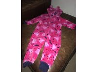Peppa Pig fleecy onsie aged 1 to 18months in great condition