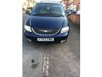 Chrysler voyager 2.5 diesel fully loaded