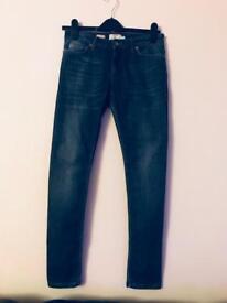 "TOPMAN Skinny Jeans. 4 Pair. Size 30"" Short."