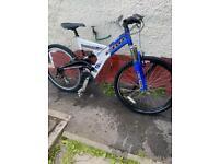"""Adult f 21 speed 26"""" wheel 19""""frame bike"""