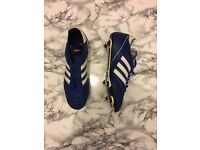 Adidas Kaiser 5 Soft Ground Metal Studded Football Boots - UK Size 10 (Practically New)