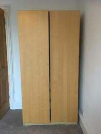 Nice pine Ikea wardrobe for sale - collection only