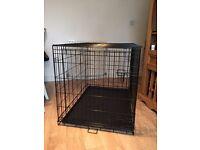 Large Dog Crate (Metal Fold-Flat)