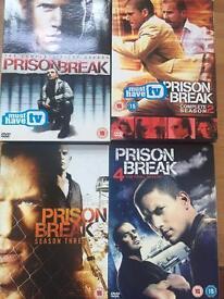 Prison Break seasons 1-4 complete collection