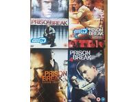Prison Break seasons 1-4 complete collection