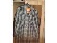 SoulCal blue casual smart shirt