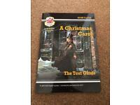 2 Christmas Carol GCSE revision Guides and A Christmas Carol text for sale  Dorchester, Dorset