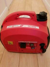 Ultra silent suitcase generator 1.8kw as new