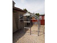 for sale aluminium greenhouse