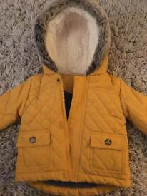 3-6 month winter coat