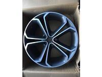 """2 X Vauxhall 20"""" Alloy Bi Colour Wheels"""