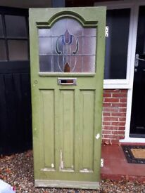 Original 1930's Front Door