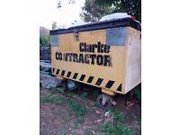 Secondhand Toolbox Clarke Contractor