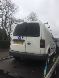 2006 Volkswagen Caddy Van SDi Spares Or Repairs Non Runner All Paperwork There Cheap Van