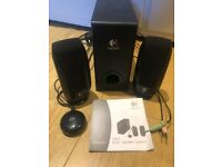 Logitech OEM S220 2.1 Speaker Subwoofer Black
