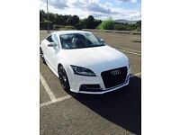Audi TTS in ibis white , Magnetic ride , red and black leather interior , fsh, mint condition