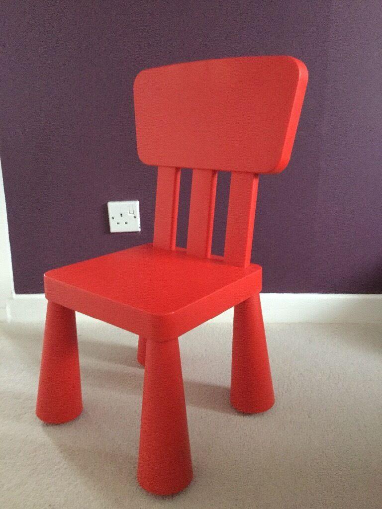 Ikea kids table mammut - Ikea Mammut Kids Table And And 2 Chairs