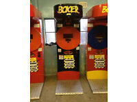 punch boxing machine coin operated.