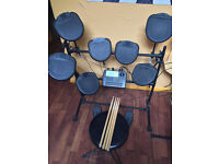 Ion iED01 Electronic Drum Kit - 2 FREE Extra Toms - RRP £249.99