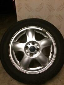 Mini one wheel, alloy rim , great spare fantastic condition