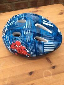 """Spider-Man 14"""" bike with helmet"""
