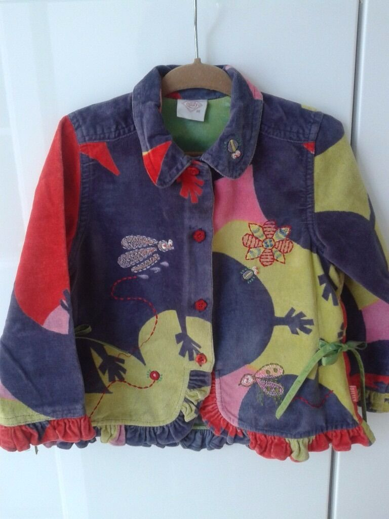 Beatiful Oilily Girl Jacket Size 98