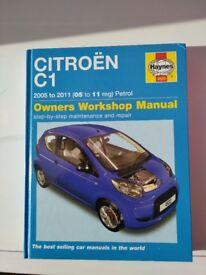 Citroen C1 haynes manual