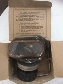 Ww2 gas mask with original box