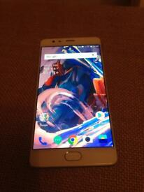 OnePlus 3 excellent condition 64gb 6gb RAM Unlocked Dual Sim phone