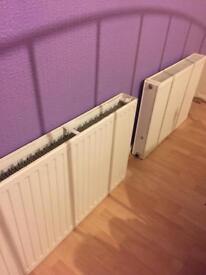 2 medium sized double radiators £30 pair