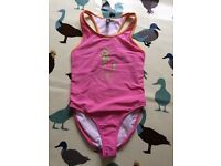 Ralph Lauren pink swimming costume , size 6 yrs old