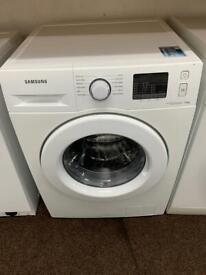 Samsung white eco bubble 7kg washing machine
