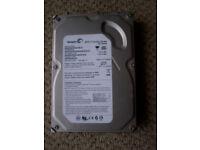 160 gb hard drive working order when last used